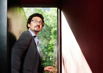 David Foenkinos lauréat Prix Goncourt des lyceens 2014 - © Bruit de Lire / Patrice Normand