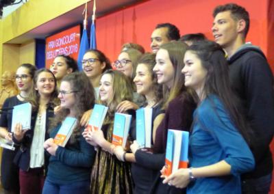 Membres de jury Goncourt des lycéens 2016