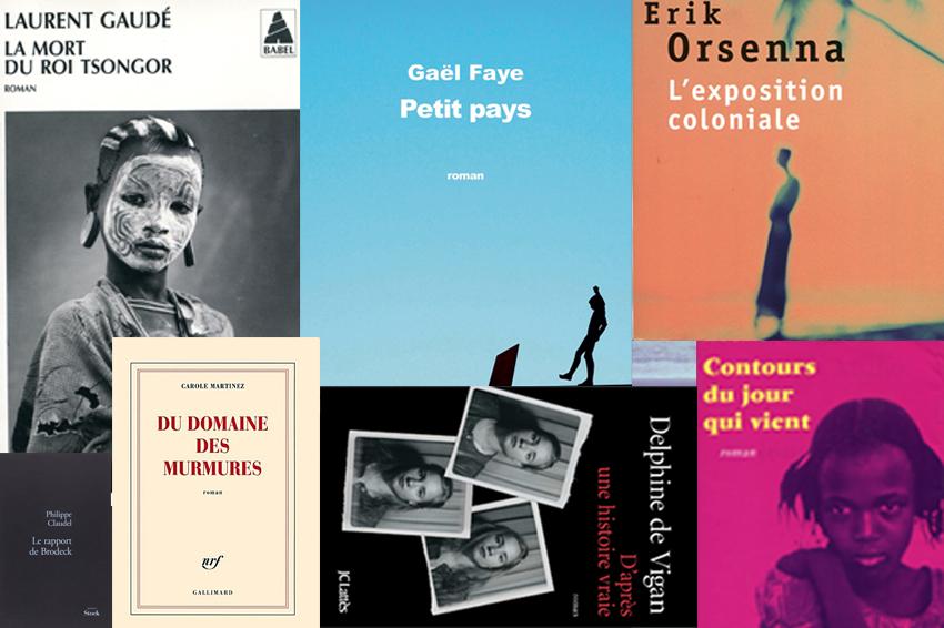 Les lauréats du prix Goncourt des lycéens