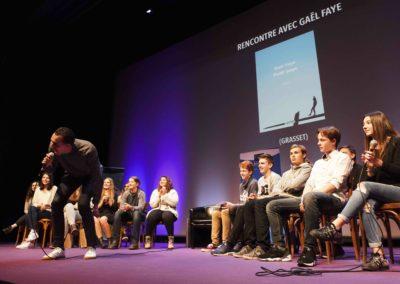 Gael Faye Rencontres nationales Goncourt des lyceens de Rennes 2016