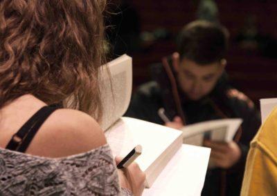 Atelier ecriture Rencontres nationales Goncourt des lyceens de Rennes 2017