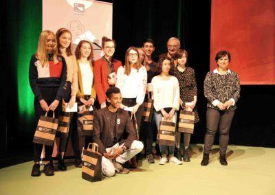 Concours de critique Rencontres nationales Goncourt des lyceens de Rennes 2017