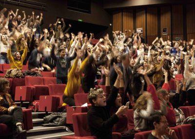 Ovation Alice Zeniter Rencontres nationales Goncourt des lyceens de Rennes 2017