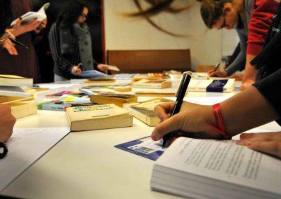 Atelier ecriture Rencontres nationales Goncourt des lyceens de Rennes 2018