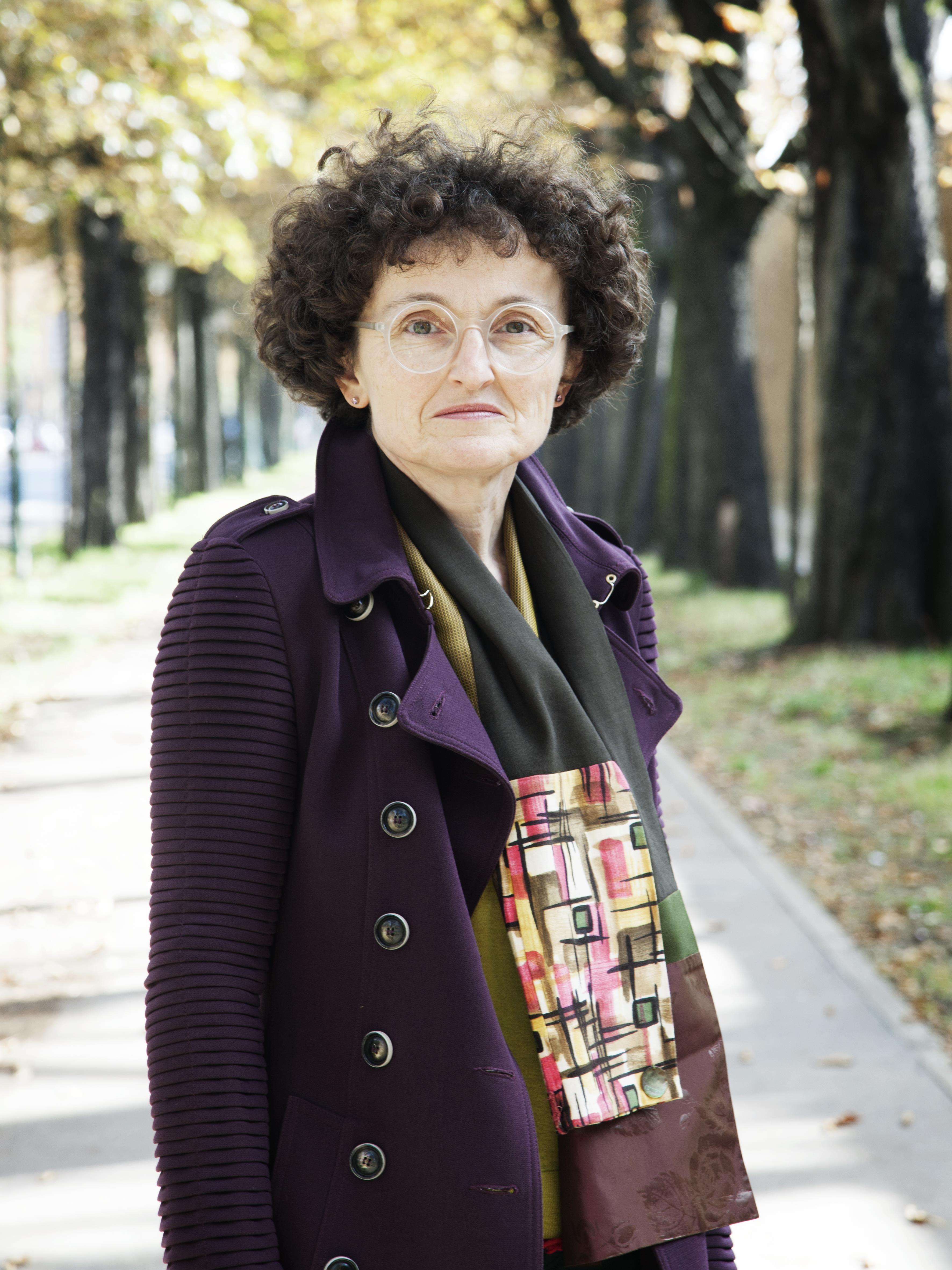 Marie-Hélène Lafon 2017 © Patrice Normand / Bruit de Lire
