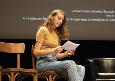 Rencontres nationales du Goncourt des lycéens de Rennes 2019 ©Patrice Normand-Bruit de Lire