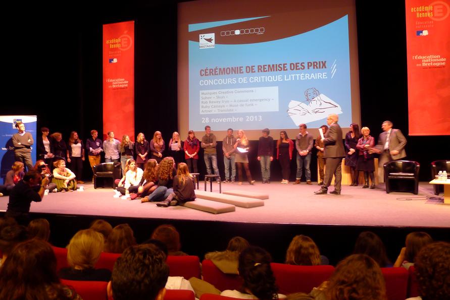 concours critique Region Bretagne 2013 Goncourt des lycéens © Bruit de Lire