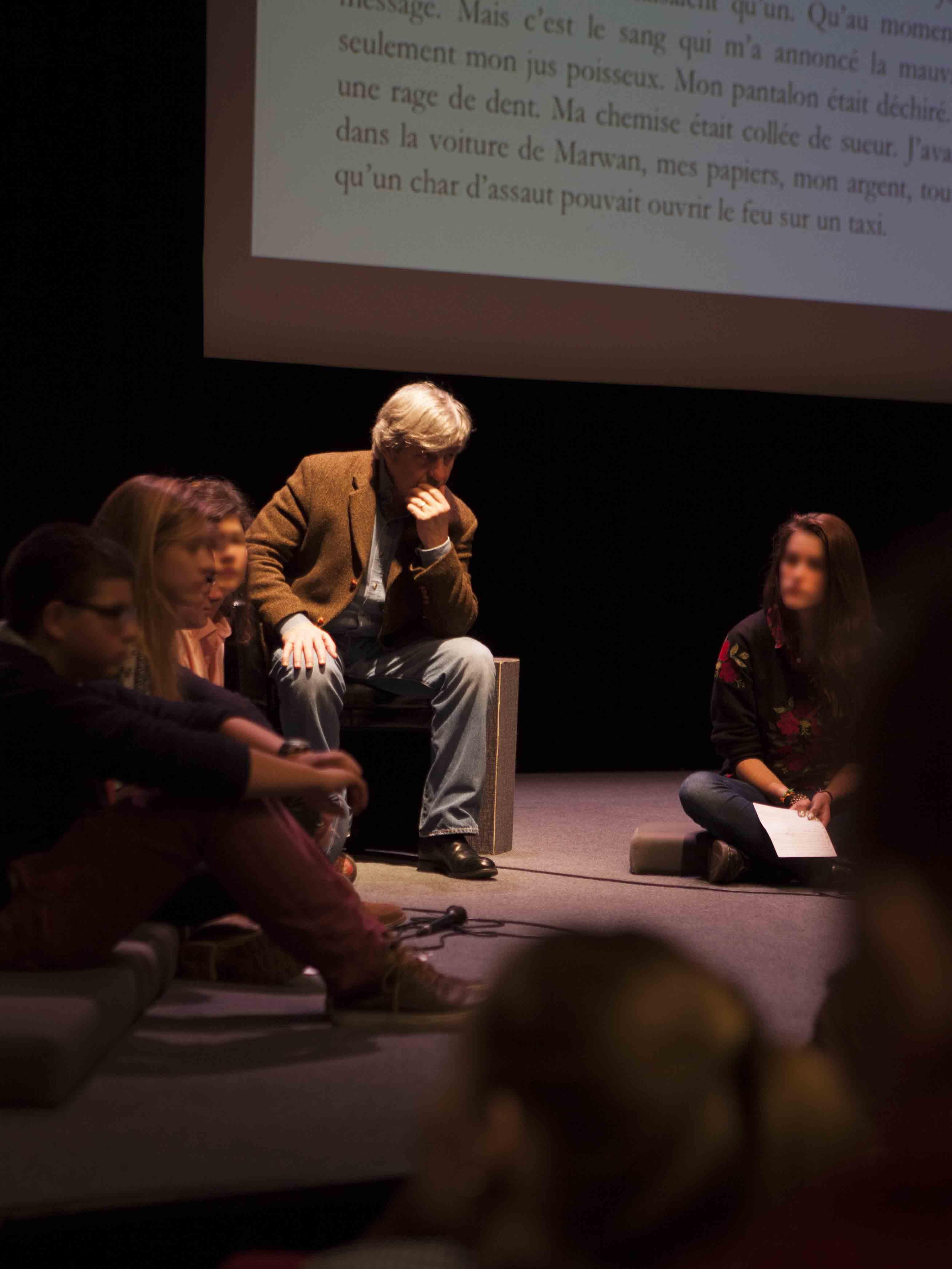 2013 Chalandon Rencontres nationales Goncourt des lyceens ©BruitDeLirePatriceNormand