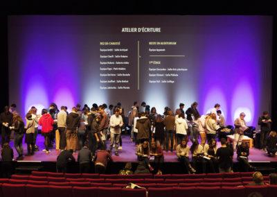 Atelier Ecriture Rencontres nationales Goncourt des lyceens de Rennes 2016