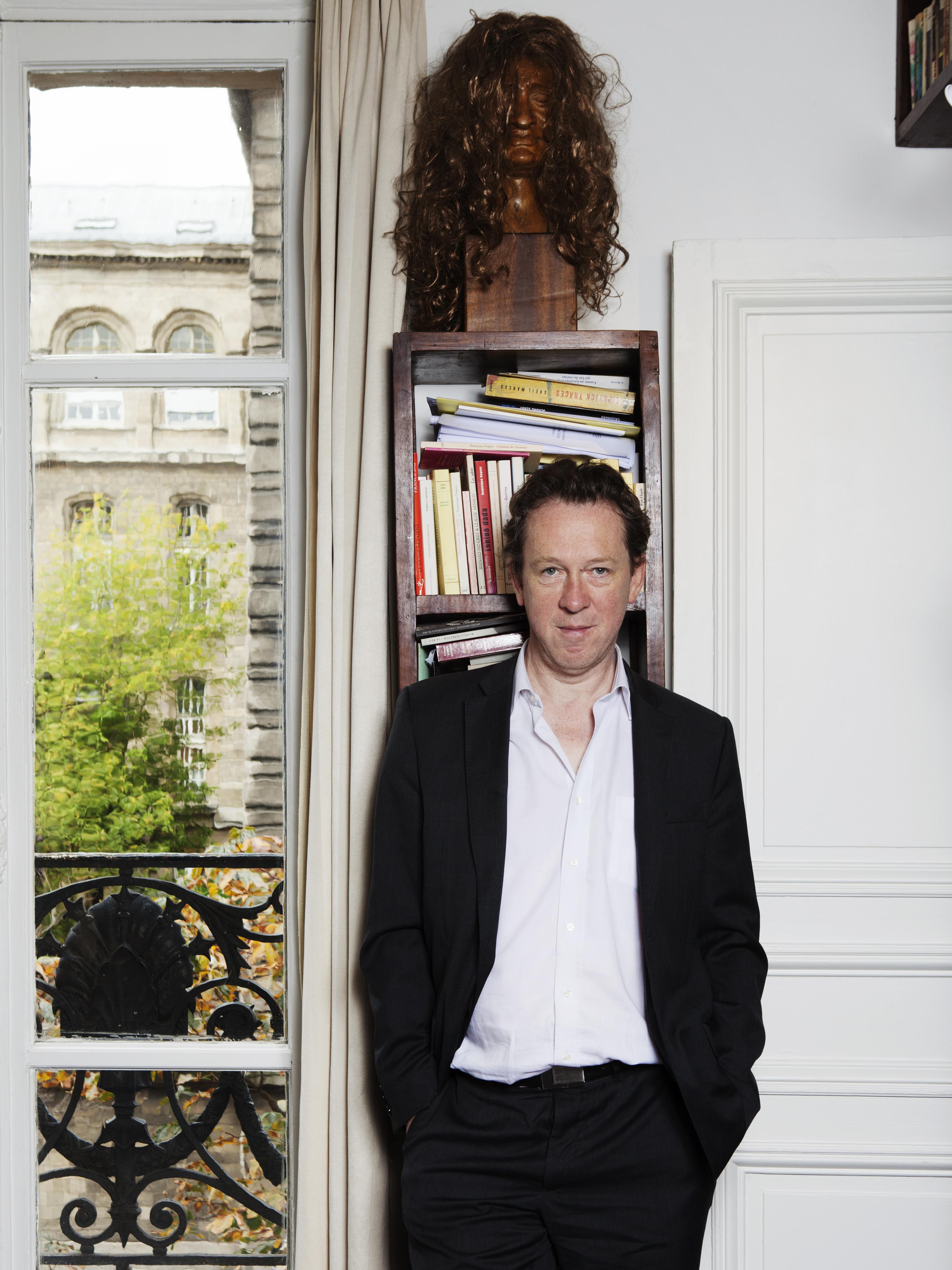Benoît Duteurtre 2014 © Patrice Normand / Bruit de Lire